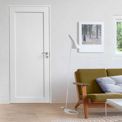 färg till dörrar inomhus