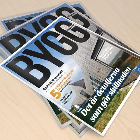 Byggmagazinet<br>Nr 1 2016