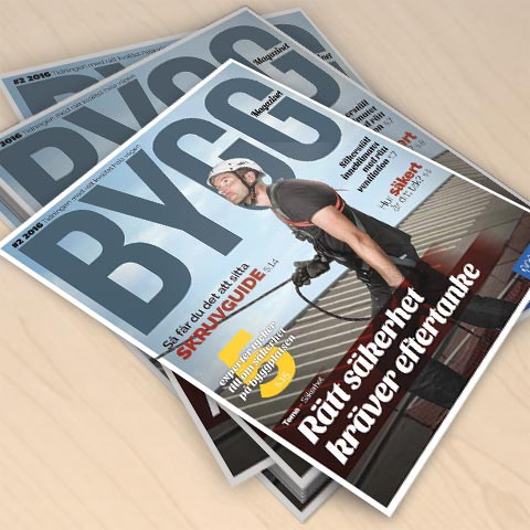 Nytt nummer av Byggmagazinet!