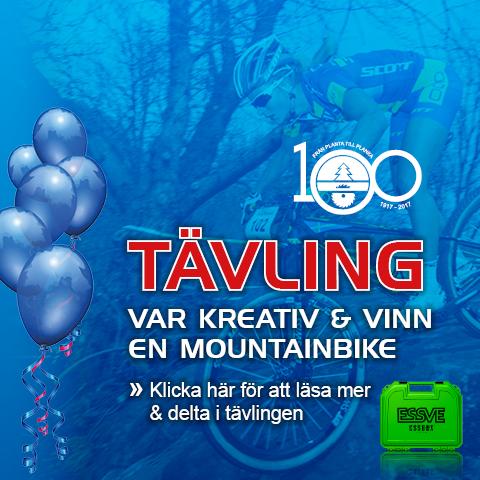 #Tävling# Vinn en mountainbike!