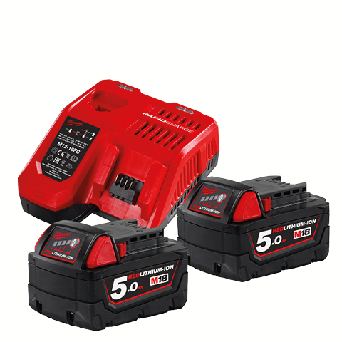 Batterikit Milwaukee NRG-502
