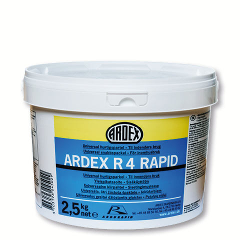 Väggspackel Ardex R4 Rapid 2,5kg
