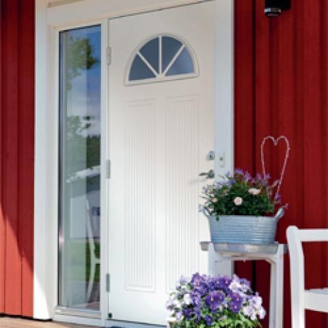 Ansiktslyftning med en ny dörr
