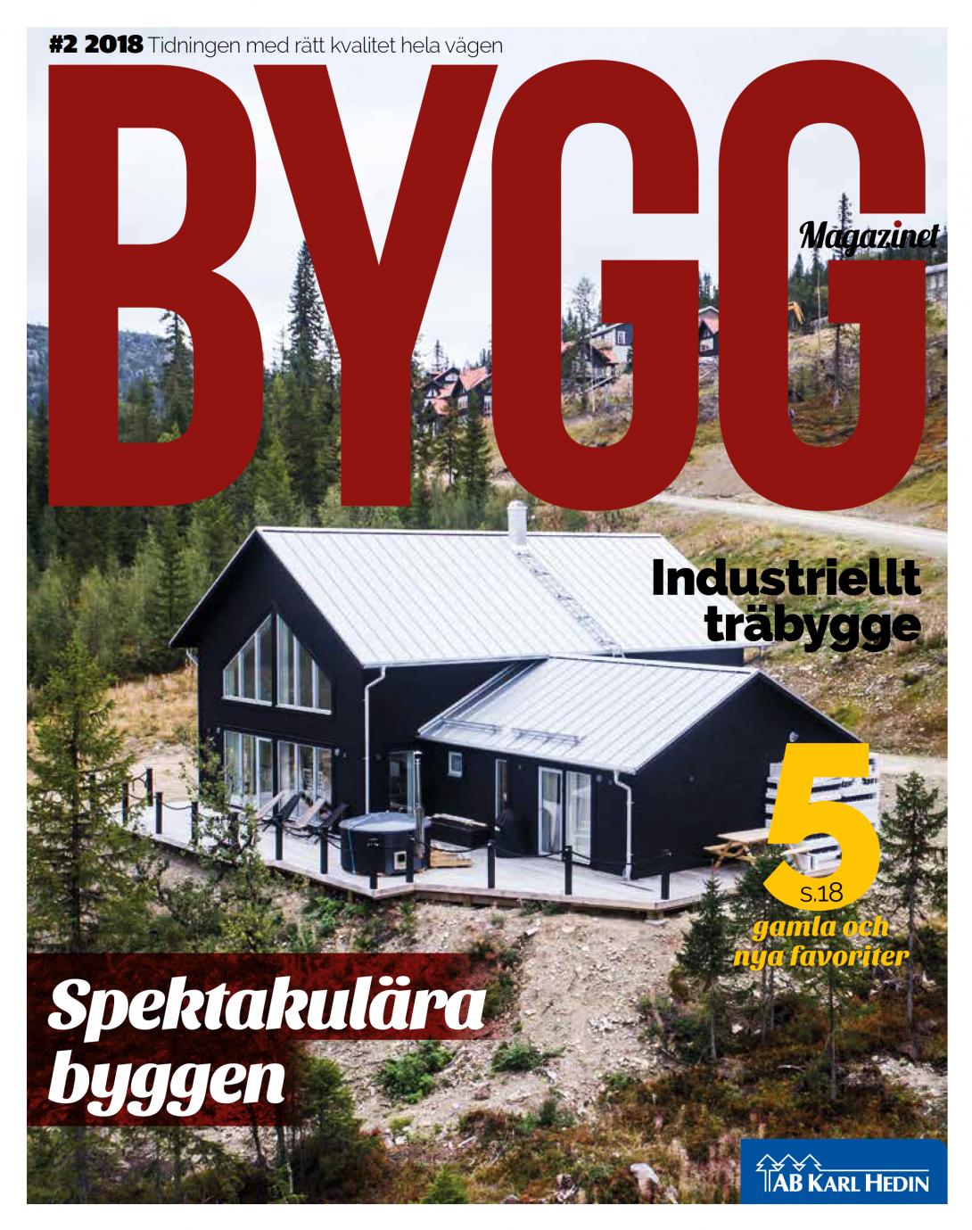 Byggmagazinet #2 2018