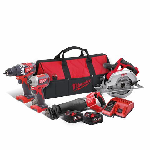 Power Pack Milwaukee CBLPP4A-502B