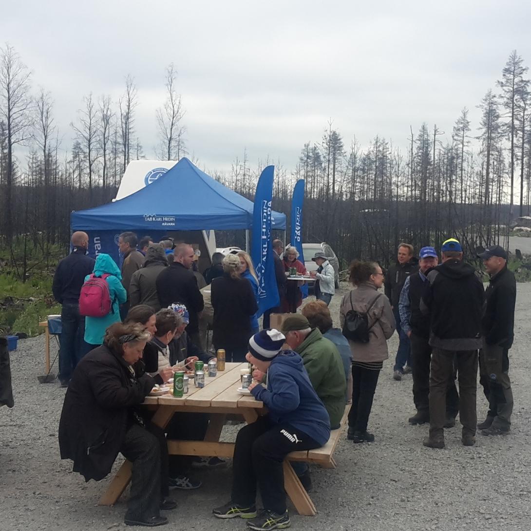 Lyckad uppstart av AHA-Skogstr�ff till brandomr�det