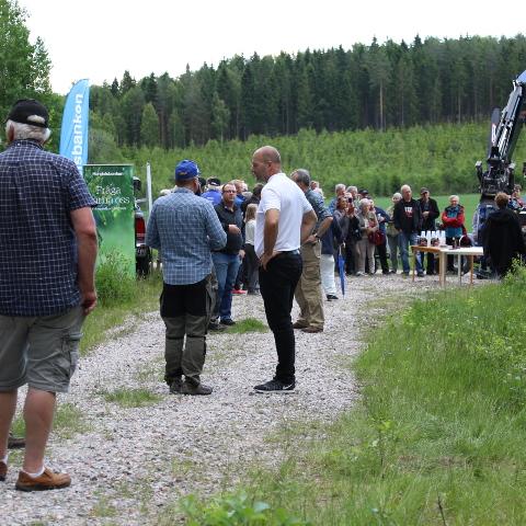 Lyckad AHA-träff på Dalsberga gård