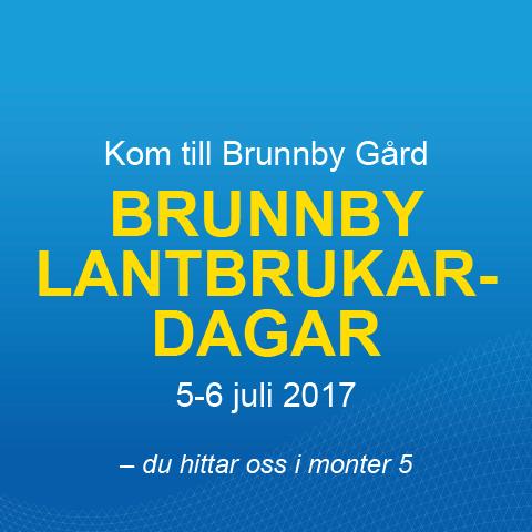 Besök oss på Brunnby Lantbruksdagar 5-6 juli!