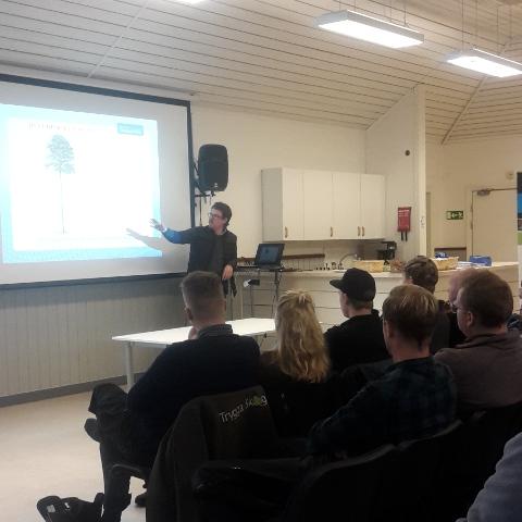 AB Karl Hedin och Skogsmästarskolan i samarbete
