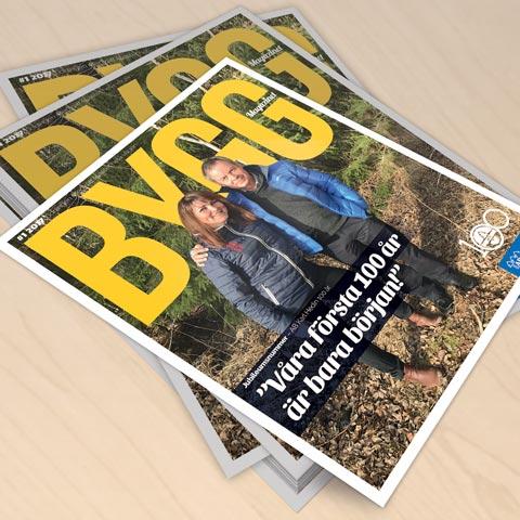 Jubileumsnummer av Byggmagazinet ute nu!