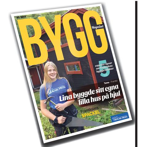 Höstens nummer av Byggmagazinet
