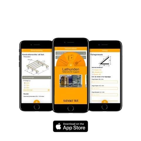 Lathunden App<br>iPhone