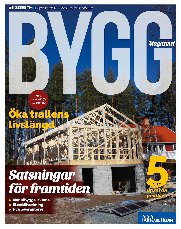 Byggmagazinet #1 2019