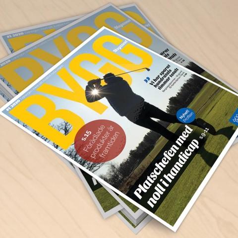 Byggmagazinet<br>Nr 1 2020
