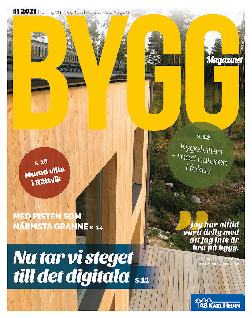Byggmagazinet #1 2021