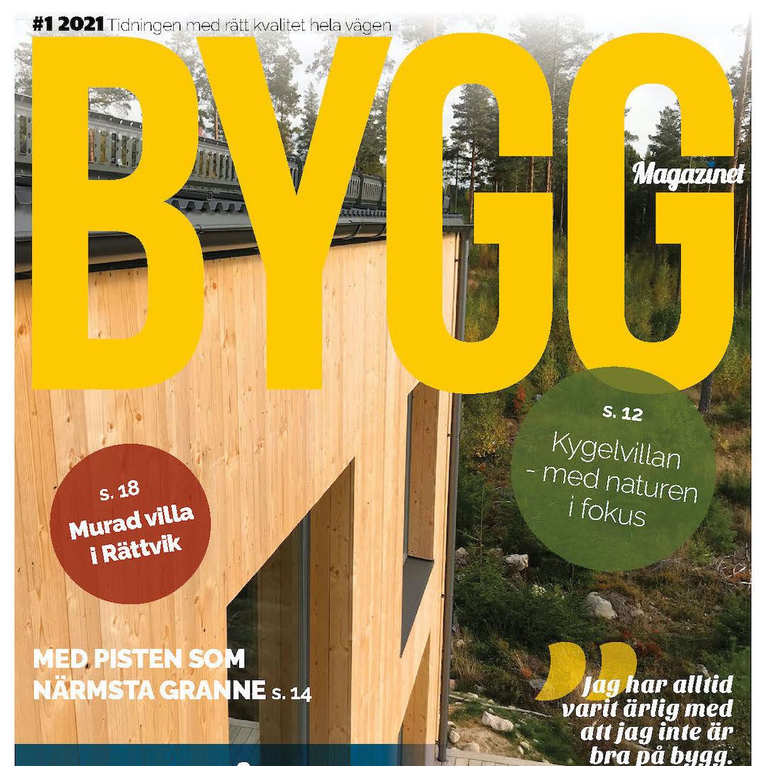 Nytt nummer av Byggmagazinet