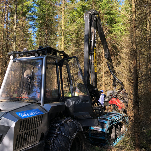 Skogsdag med Team Köping -  Stickvägslös värdeaptering
